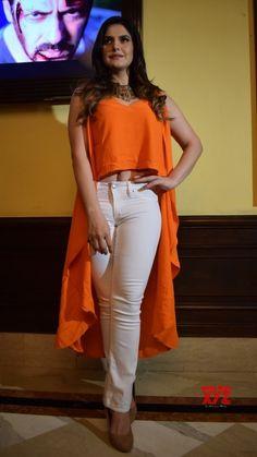 "New Delhi: ""Aksar promotions - Social News XYZ Indian Bollywood Actress, Bollywood Actress Hot Photos, Beautiful Bollywood Actress, Beautiful Indian Actress, Bollywood Theme, Girls Fashion Clothes, Girl Fashion, Zarine Khan Hot, Madhuri Dixit Hot"