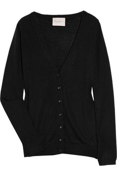the cashmere cardigan