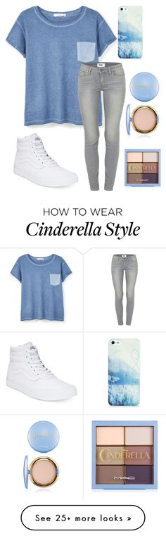 """""""Keeping it simple and sweet"""" by emi-elephant on Polyvore featuring MANGO, Paige Denim, Vans and BlissfulCASE"""