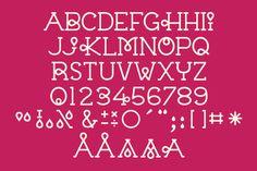 Vector Typeface: Chloe by CSA Creative Studio on @creativemarket