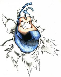 The Tick Best Cartoons Ever, Cool Cartoons, Invader Zim, Baby Crafts, Ticks, Cartoon Art, Pop Culture, Childhood, Geek Stuff