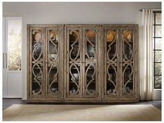 Shop this hooker furniture solana light wood bunching curio cabinet from our top selling Hooker Furniture curio cabinets. LuxeDecor is your premier online showroom for dining room furniture and high-end home decor. White Dining Room Furniture, Living Room Furniture Arrangement, Large Furniture, Furniture Sale, Dining Room Table, Rustic Furniture, Space Furniture, Furniture Removal, Furniture Movers