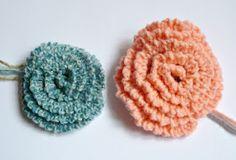 FREE PATTERN - Simple Crochet Flowers