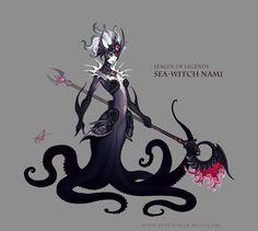 Sea Witch Nami by ~Shockowaffel on deviantART