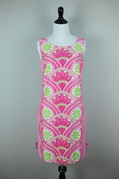 LILLY PULITZER JUBILEE Sz 8 [G09] Sequin Pink Nifty 4 Fifty Dress & Garment Bag #LillyPulitzer #Shift #Casual