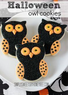 halloween-owl-cookies Simply Sweets by Honeybee