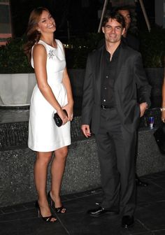 Night out for Mr. and Mrs. Jeff Gordon