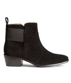 H&M Boots i semsket skinn 559,-