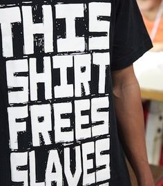 $25 tee employs survivors of human trafficking in Cambodia. I love Not For Sale!