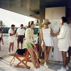 Tennis in the Bahamas, 1957 | Slim Aarons
