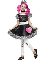Fun World Broken Doll Costume for Kids