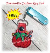 NFA Paw With Hearts Key Fob Embroidery Machine Design Freebie - Newfound Applique Applique Embroidery Designs, Machine Embroidery Applique, Cat Key, Key Fobs, Pin Cushions, Free Design, Machine Design, Keychains, Hoop