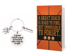 Basketball Coach Keychain Basketball Jewelry, Basketball Coach, Basketball Players, Coach Keychain, Infinity Jewelry, Female Athletes, Tween, Jewelry Making, Cards
