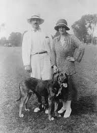 1920s man with dog - Google Search
