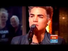 Adam Lambert LIVE on Sunrise