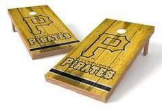 Pittsburgh Pirates Single Cornhole Board - Vintage