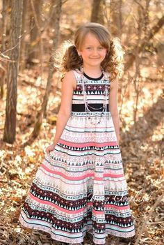 Mia's Tieback Top, Dress