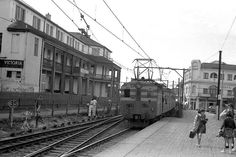 Muizenberg station. South Africa. 1960's Nordic Walking, Cape Town, Old Photos, South Africa, Landscape Photography, Southern, Street View, Memories, History