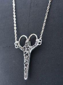 Scissors necklace!