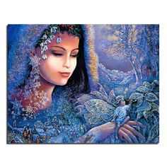Blue Wizard 46x36 Wholesale DIY Diamond Painting Home Decoration Rhinestone Wall Stickers Embroidery Needlework-in Diamond Painting Cross Stitch from Home & Garden on Aliexpress.com | Alibaba Group