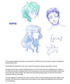How to Draw : Hairstyles Pt. 1 After a really long time this is finally done, I still have a few request projects to work on but this was at the top of the queue. A tutorial discussing the various methods and styles of drawing hair, specifically...