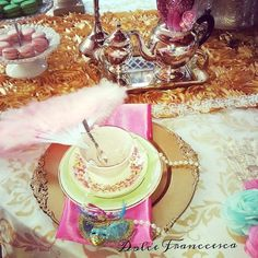 Marie Antoinette Inspired Birthday Party via Kara's Party Ideas KarasPartyIdeas.com Decor, cake, favors, tutorials, desserts, and more! #marieantoinette #amrieantoinetteparty #vintagemasqueradeparty (14)