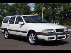 2000 Volvo V70 XC SE AWD Cross Country White Station Wagon Slideshow Station Wagon, Cross Country, Cars, Vehicles, Cross Country Running, Autos, Trail Running, Automobile, Vehicle