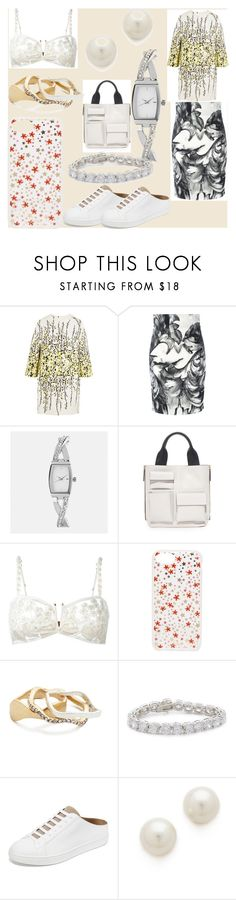 """""""set sale alert"""" by denisee-denisee ❤ liked on Polyvore featuring Giambattista Valli, Versace, Avenue, Marni, Yes Master, Sonix, Madewell, Kenneth Jay Lane, Vince and vintage"""