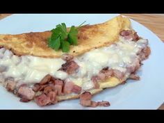BACON CHEESE OMELETTE - How To Recipe