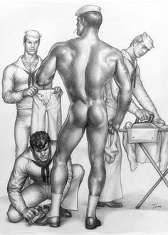 Tom of Finland bottom – from Tom of Finland XXL