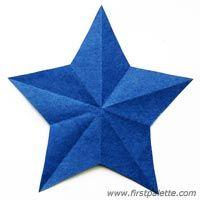 Step 8 Folding Paper Stars