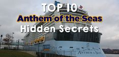 Royal Caribbean's Anthem of the Seas is a very impressive cruise ship, offering lots to see and do, which means you will not want to miss any of it....