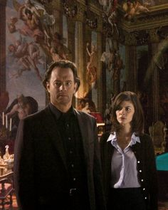 Tom Hanks and Audrey Tautou in The Da Vinci Code 2006 Movie Photo, Picture Photo, Movie Tv, Tom Hanks Movies, Inferno Dan Brown, Toms, Ron Howard, Film Pictures, Audrey Tautou