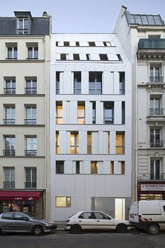 Logements, MAAST architectes, Paris