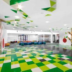Cool color scheme - School Design