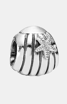 Seashell Authentic Pandora Sterling Silver Charm 790972 Hot Sale 50-70% OFF Jewelry & Watches
