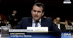 Watch the Confirmation Hearing for Eric Fanning, Who Would Be the First Openly Gay Army Secretary: VIDEO