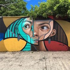 Cubism and Realism Collide in New Murals and Paintings by 'Belin' panish artist Miguel Ángel Belinchón Bujes, or Belin, has long been known in the graffiti world for his photorealistic murals. After a recent trip to Pablo Picasso's birthplace however, his work has begun to adopt elements of cubism—now producing creative portraits in a style he's dubbed postneo cubism.