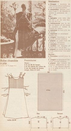 French Magazine, Sewing Patterns, Movie Posters, Magazines, Stitch, Crochet, Blog, Aprons Vintage, Apron Patterns