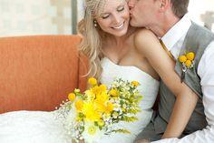Bride Meets Wedding | Yellow Summer Wedding Ideas | Featured Wedding in Cedar Rapids, Iowa | Lindsay Herbst Photography | Iowa, Illinois and Wisconsin Wedding Inspiration and Information