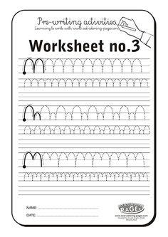 Pre-writing activities - Worksheet no.3
