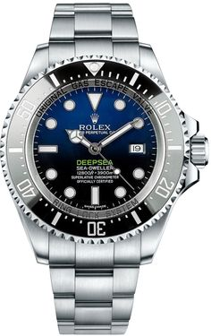 "Rolex Deepsea D-Blue Dial 116660: ""116660-BLUO 