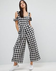 Summer Outfits, Casual Outfits, Cute Outfits, Fashion Outfits, Asos Fashion, Womens Fashion, Fashion Moda, Fashion Beauty, Cotton Jumpsuit