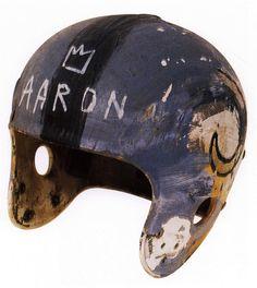 Helmet - Jean-Michel Basquiat - WikiPaintings.org