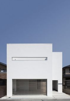 Modern Home in Japan Minimal Architecture, Space Architecture, Contemporary Architecture, Minimalist House Design, Tiny House Design, Home Building Design, Building A House, Casa Petra, Small House Exteriors