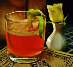 ~ 12 Cocktails of Christmas at the Mac House ~  #4 - SANTA'S DREAM: El Cartel Tequila Blanco, Cointreau, Soho Lychee Liqueur, pineapple juice, grenadine, grated nutmeg.  Photo courtesy of Jennifer Clark and original cocktail courtesy of Daniel J. Mello.