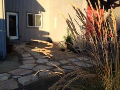 Flagstone Courtyard Home Improvement | reluctantentertainer.com