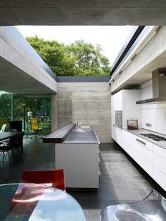 Cabrio Kitchen, Architect Richard Powers
