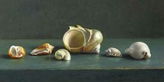 Henk Helmantel, Still Life with Shells. 1992