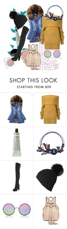 """""""Untitled #138"""" by arborkirmizisi ❤ liked on Polyvore featuring Irene, Grown Alchemist, Tory Burch, Alice + Olivia, Black, Sunday Somewhere and Rebecca Minkoff"""